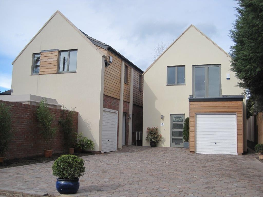 Land Market Case Study, Success Story, Little Withey After Development, new build houses,