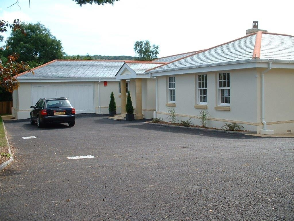 Sidmouth, Bungalow, Land Development, New Build, White House,