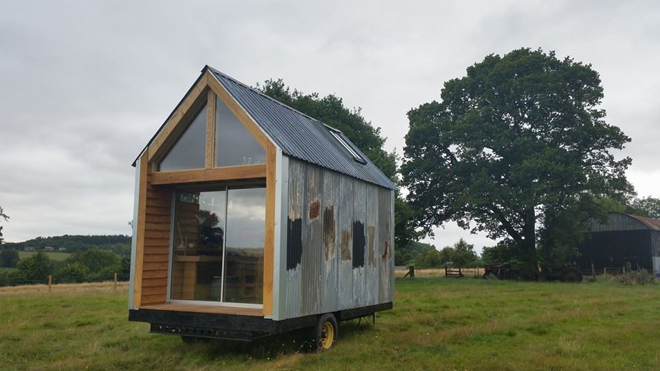 our tiny home, amazing spaces, uk, hereford, DIY house,
